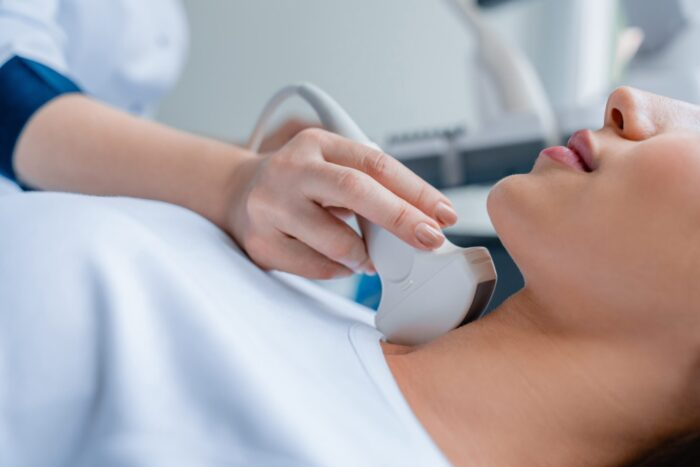 helsekontroll med ultralyd